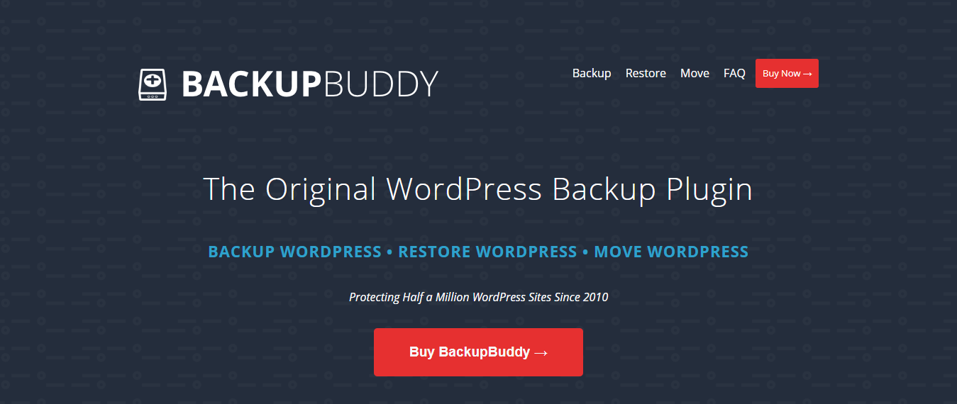 Backup Buddy Download Page