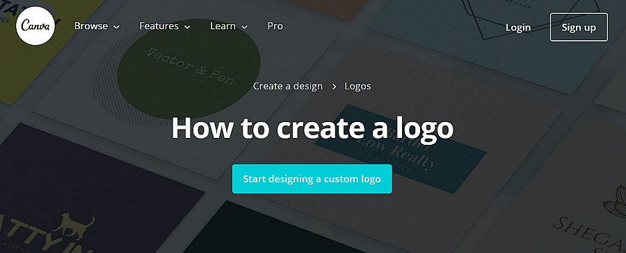 canva free logo maker