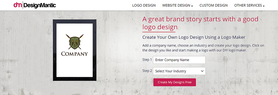 designmantic free logo maker