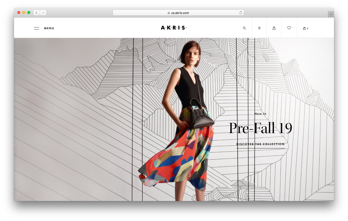 Akris homepage