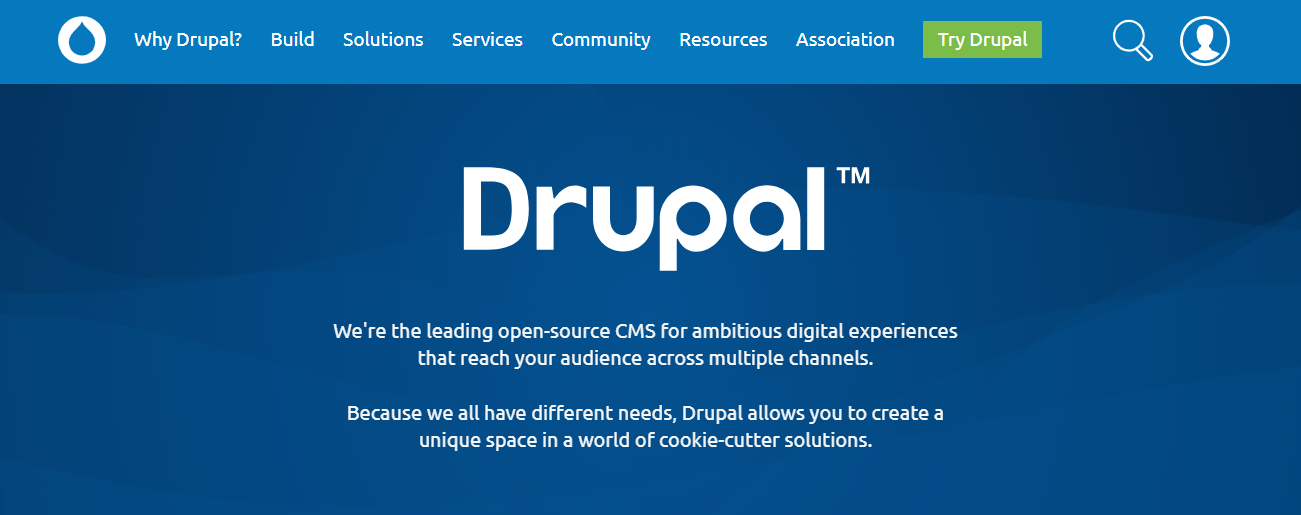 drupal cms best content management systems