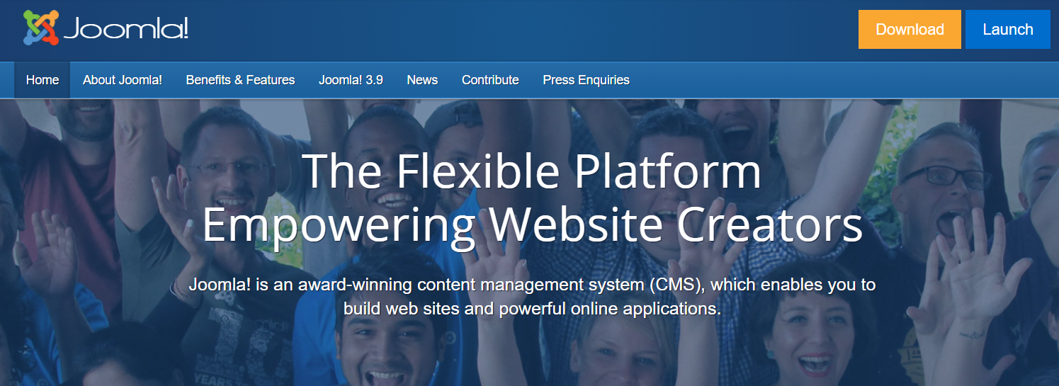 joomla cms best content management systems