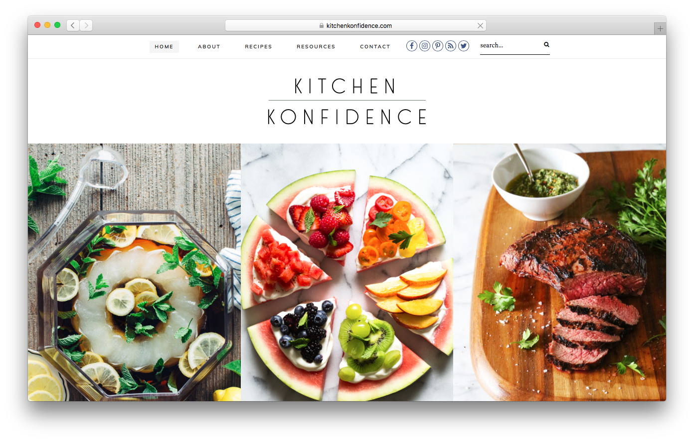KitchenKonfidence homepage