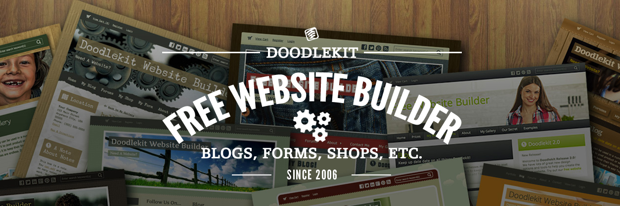 DoddleKit homepage website builder