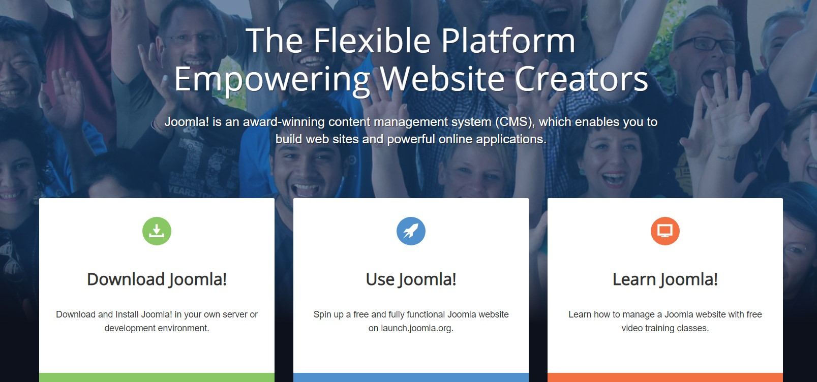 Joomla! is a powerful blogging platform with various customization options