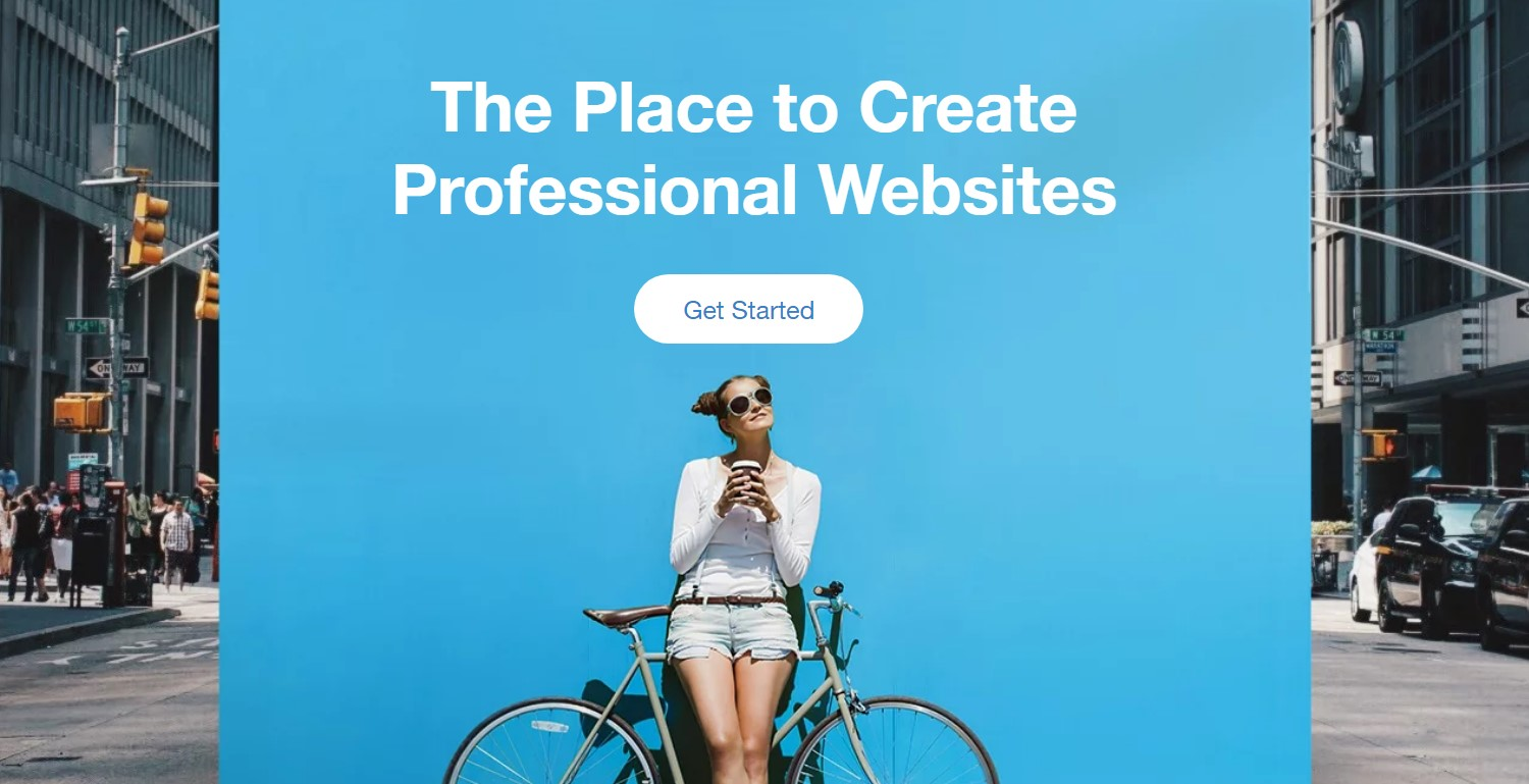 Wix is a professional website builder equipped with a lot of features