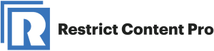 Restrict Content Pro WP plugin logo.