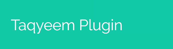 taqyeem plugin for wordpress