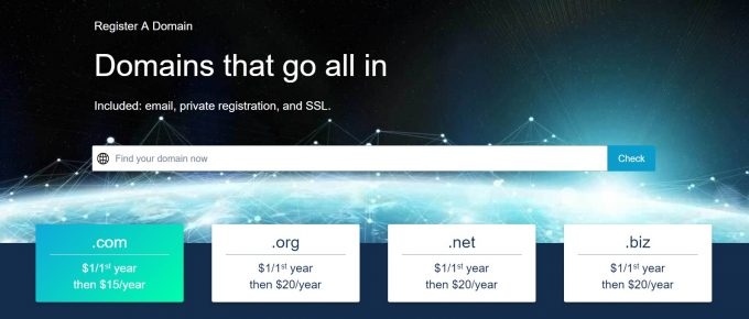 1&1 IONOS domain name registrar