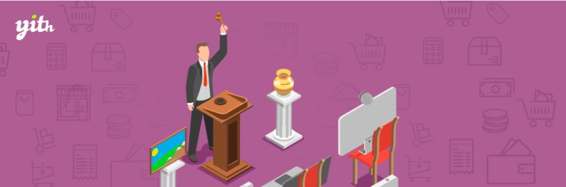 YITH woocommerce wordpress auction plugin