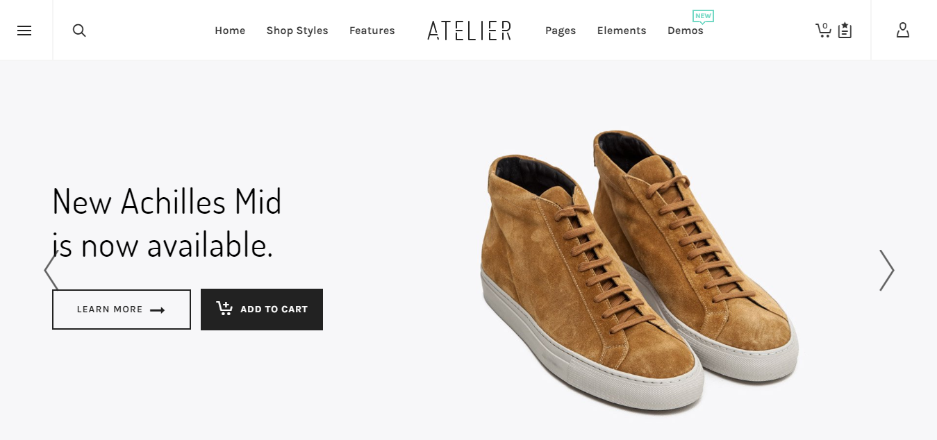 atelier best woocommerce theme