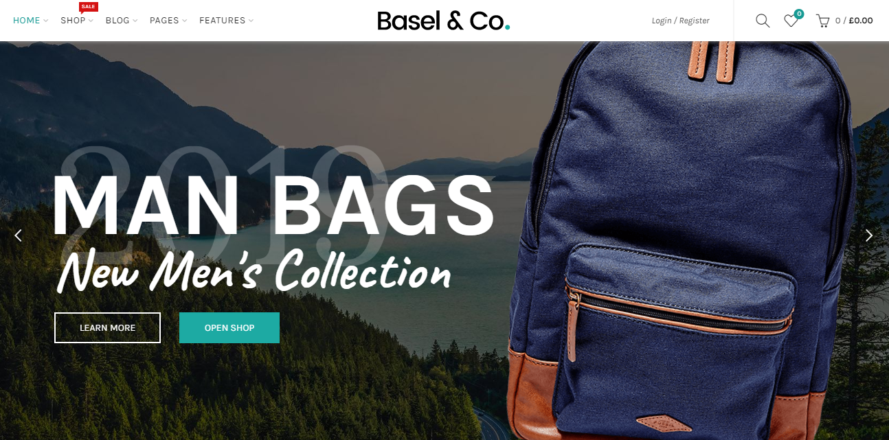 Basel best woocommerce theme