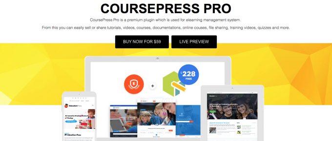 CoursePress Pro premium WordPress LMS plugin