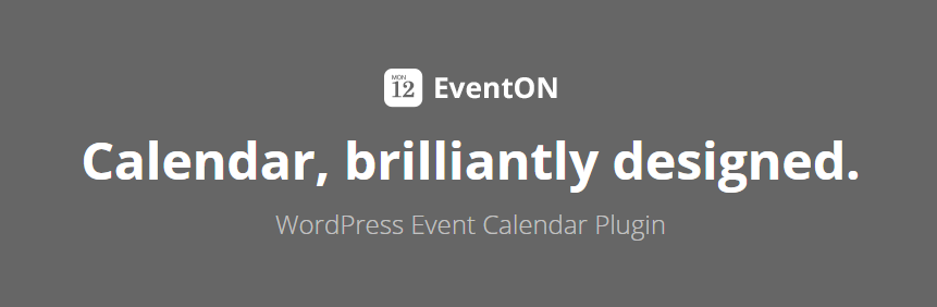EventOn WordPress Events Plugin banner