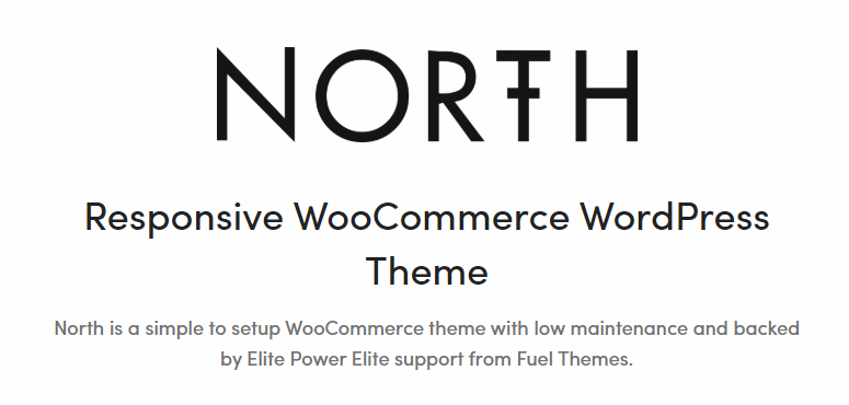 North best woocommerce theme