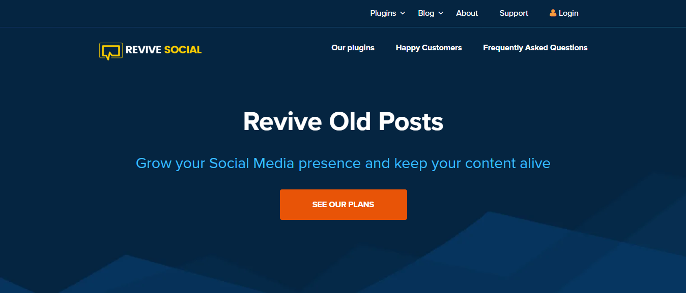 Revive Old Post Social Media Plugin Home Page