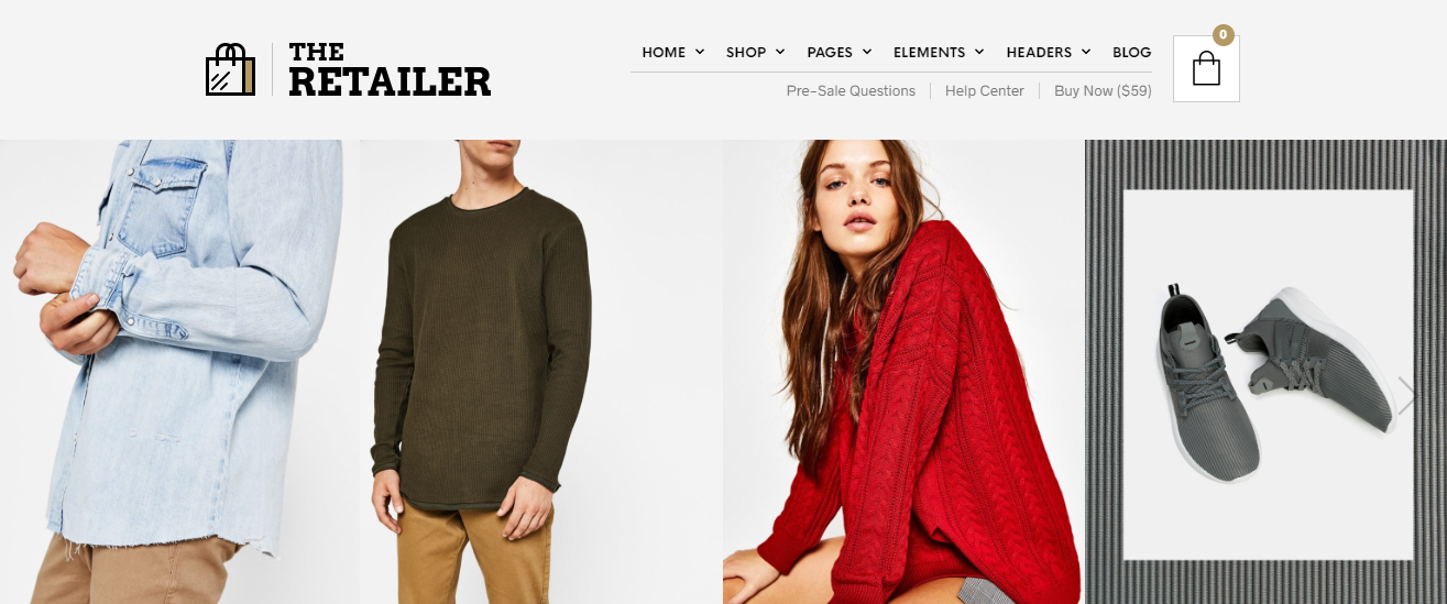 The retailer best woocommerce theme