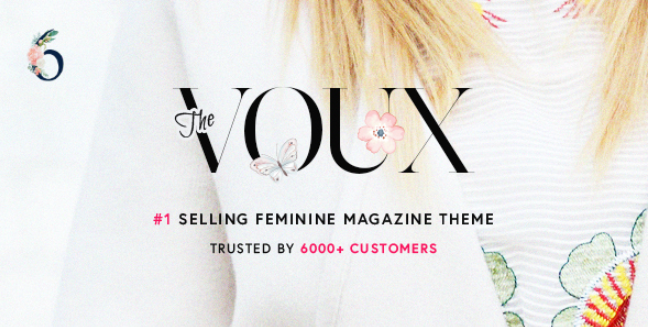 voux theme homepage