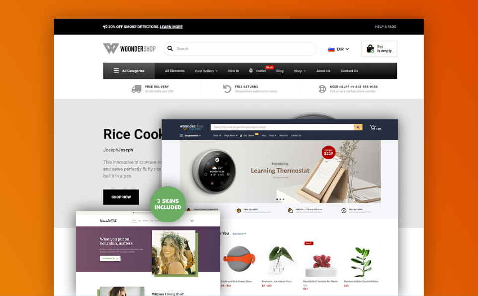 Wondershop best woocommerce theme